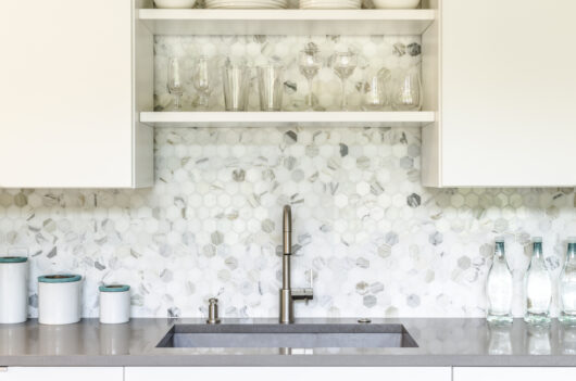 Photo of kitchen backsplash tile