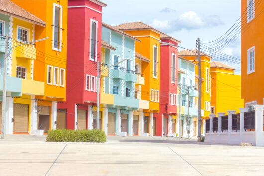 exterior color palate of residential buildings