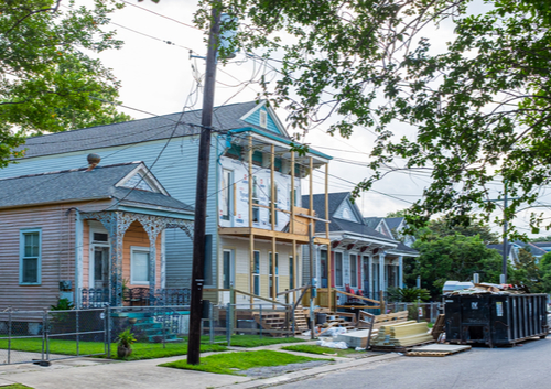 historic home renovation in New Orleans