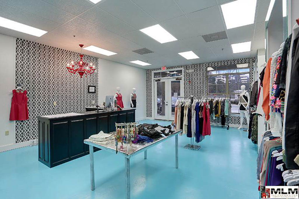 Photo Of A Retail Store Design - MLM Incorporated