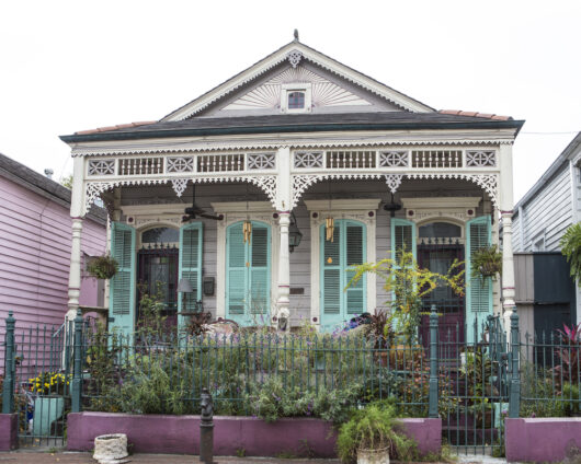 photo of New Orleans cottage style home