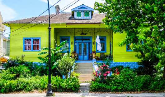 Photo of New Orleans Home in the Summer