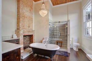 New Orleans Transitional Bathroom - - MLM Incorporated