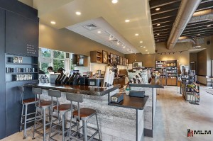 An image of a Starbucks, which serves as an excellent example of spacial branding, which is encouraged by MLM Incorporated in New Orleans, LA